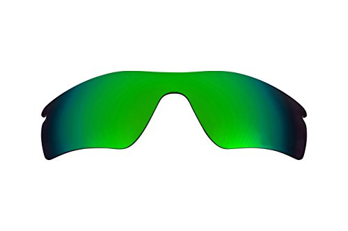 Beste SEEK Polarisiert Ersatzgläser for Oakley RADAR PATH Emerald Grün