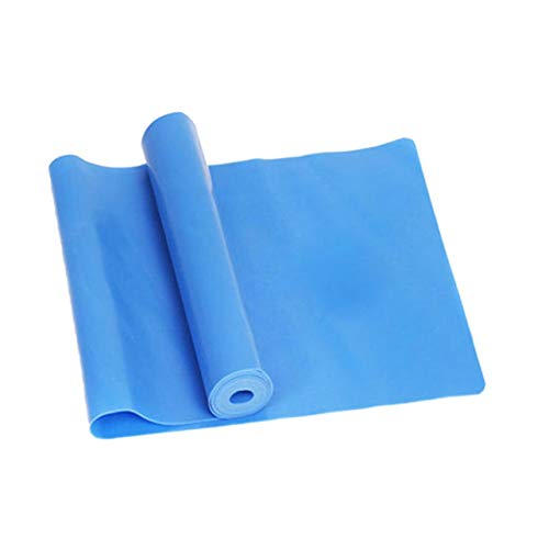 WOSOSYEYO Deporte Gimnasio Equipo de Yoga Entrenamiento de Fuerza Bandas de Resistencia elástica Entrenamiento Yoga Bucles de Goma Deporte Banda de Pilates