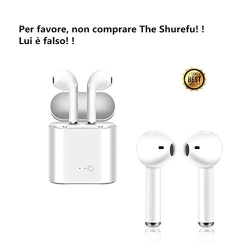 SZPYLS Auricolare Bluetooth, Mini riduzione del Rumore Sportivo e Cuffie antisudore, Compatibile con la Maggior Parte degli Smartphone iOS Android