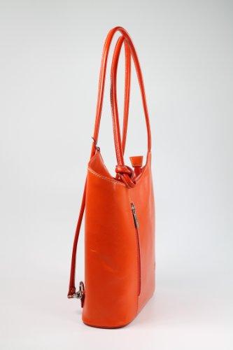 Belli, Borsa a zainetto donna Multicolore multicolore 28x28x8 cm (B x H x T) Multicolore (arancione)