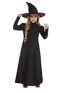 Smiffys 51043L - Disfraz de bruja malvada, talla L, color negro