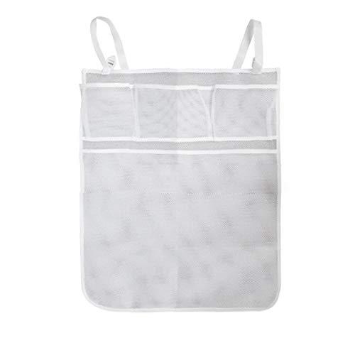 Babybett hängende Speicher-Beutel Bettwäsche-Organisator-Net-Spielzeug-Windel-Windel-Taschen-Mesh-Taschen