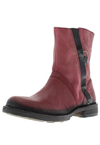 Fly London Nuke, Anfibi Donna Rosso (cordoba red)