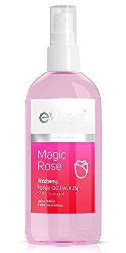 EVREE MAGIC ROSE Spray Rosenwasser Spray Gesichtswasser mit Hyaluronsäure 200ml