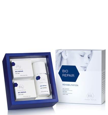 Holy Land Bio Repair Rehabilitation Kit (Gel Cleanser, Day Cream, Night Cream) - Intensive Nourishing Day Cream