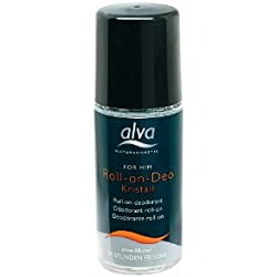 Alva for Him Kristall - Deo - Roll On 50 ml