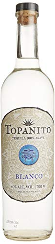 Topanito Blanco Tequila 100{1c19b2500f24af42fc87ee71bf6aa63d335c8b035e2cc3cae320867fb0e09ead} Agave 40{1c19b2500f24af42fc87ee71bf6aa63d335c8b035e2cc3cae320867fb0e09ead} vol. (1x0,7l)
