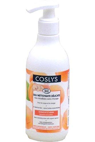 Coslys Hygiène et Soin Bébé Eau Nettoyante à l'Abricot Bio 250 ml