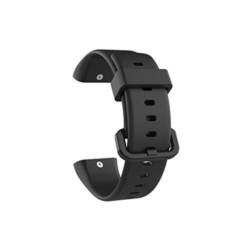 FBGood Mode Einfarbig Silikonband Ersatz Uhrenarmband, Unisex Smart Watch Wechsel Zubehör Extra Weiches Silikon Armband Freizeit Ersatzband Sportarmband für XIAOMI AMAZFIT COR 2 -