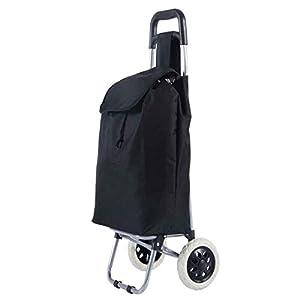 Alaskaprint Einkaufstrolley Einkaufsroller klappbare Einkaufswagen Faltbarer Einkaufsroller Shopping Trolley Roller Einkaufshilfe Einkaufs Trolley Lila