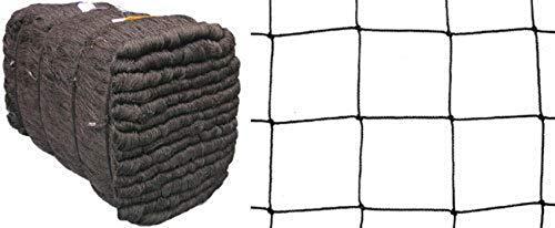 Dimensions : teichschutznetz laubnetz maille filet anti-oiseaux noir 10 cm-épaisseur : 1,2 mm longueur : 10 m-vendu au mètre