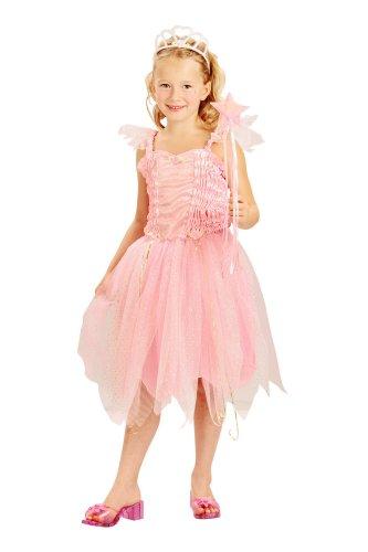 Costume da principessa fatina per bambina 4/6 anni (Kostüm Di Carnevale Per Bambini)