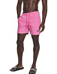 Urban Classics Herren Badehose Badeshorts Block Swim Shorts