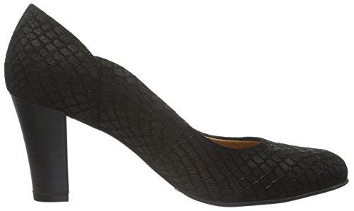 Caprice - 22401, Scarpe col tacco Donna Schwarz (BLACK REPTILE 10)
