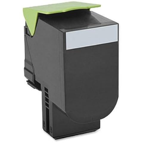 80C0X10 - TONER CARTRIDGE, BLACK CX510 Black Extra High Yield Toner, 8000 pages