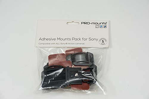 PRO-mounts pm2016sy01 Kit di supporti per Sony fdr-x3000/Sony FDR-X1000/Sony HDR-AS200 V/Sony...