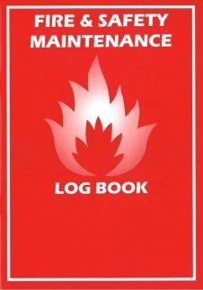 FIRE LOG BOOK -A5- BRAND NEW - COMPLIANT - LANDLORD