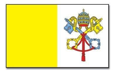 GROSSE Vatikan Flagge Fahne Papst katholische Kirche