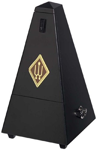 WITTNER Metronome 806M Pyramid shape wooden casing - Black matt