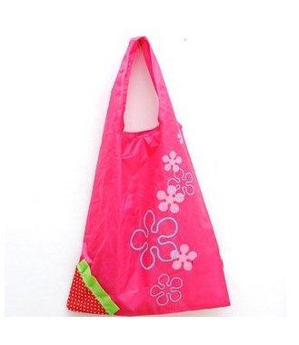 87_ solo Fragola Riutilizzabile Borse Shopper 1pcs, Hot Pink, 5