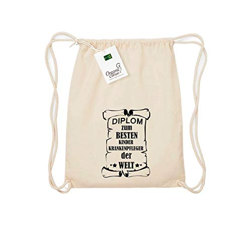 Camiseta stown Organic gymsac Diploma para mejores infantil Enfermeras del Mundo, color...
