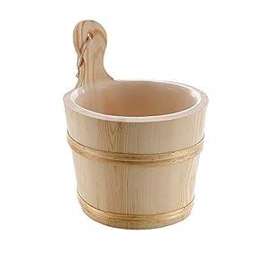 eliga Aufgusseimer für Ihre Sauna/Saunaeimer in verschiedenen Größen und Ausführungen/Saunazubehör