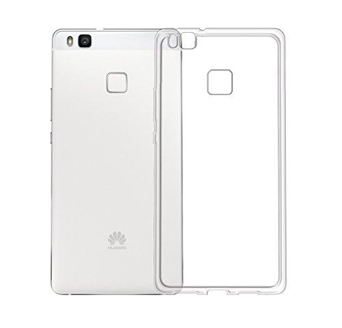 Minto Ultradünn TPU Hülle iPhone 8 Plus / iPhone 7 Plus Silikon Schutzhülle Handyhülle Case Crystal Cover Durchsichtig transparent 0.6mm P9 Lite