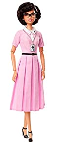 Barbie Inspiring Women Series Katherine Johnson Doll Muñeca Grandes Mujeres, Multicolor (Mattel FJH63)