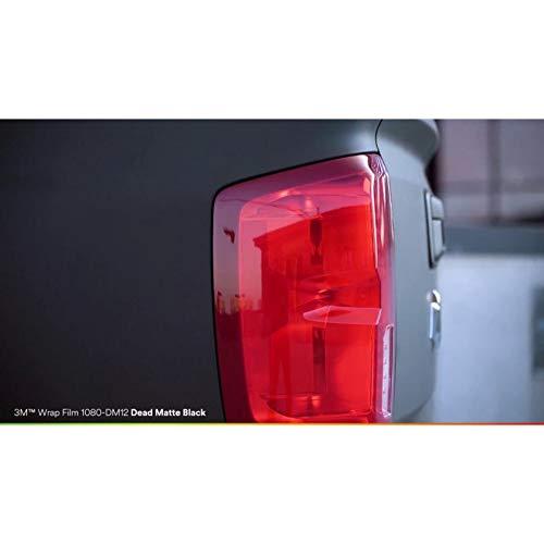 Matte Black Cast (3M 1080 Dead Matte Black | DM12 | Vinyl CAR WRAP Film (5ft x 10ft (50 Sq/ft)) w/Free-Style-It Pro-Wrapping Glove)