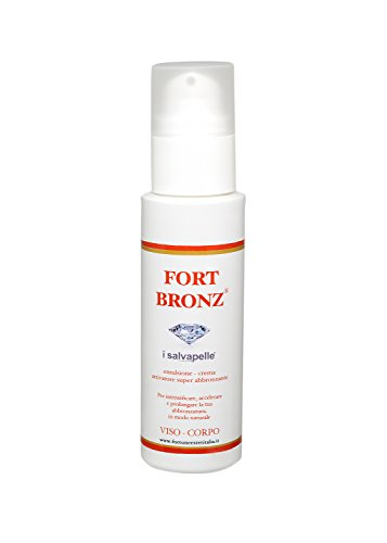 CREMA ATTIVATORE SOLARE, VISO E CORPO CON DISPENSER - FORT BRONZE - 100ML
