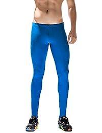 Sylar Pantalones De Hombre, Moda Color Sólido Slim Fit Deportivos Pantalones De Fitness Secado Rapido Transpirable Pantalones De Yoga S-XL