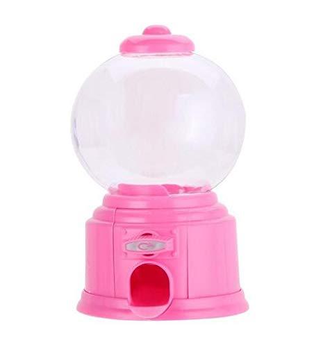 Kreative Nette Süßigkeit Mini Candy Maschine Kaugummi Dispenser Münzen Bank Kinderspielzeug Lager Preis Weihnachten Geburtstagsgeschenk,Pink
