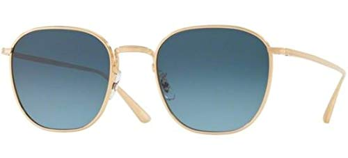 Oliver Peoples Sonnenbrillen BOARD MEETING 2 1230ST GOLD/MARINE SHADED Unisex