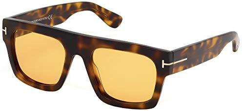 Tom ford occhiali da sole fausto ft 0711 havana/brown unisex