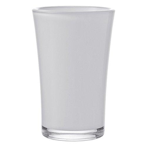Vase 22/blanc/rose