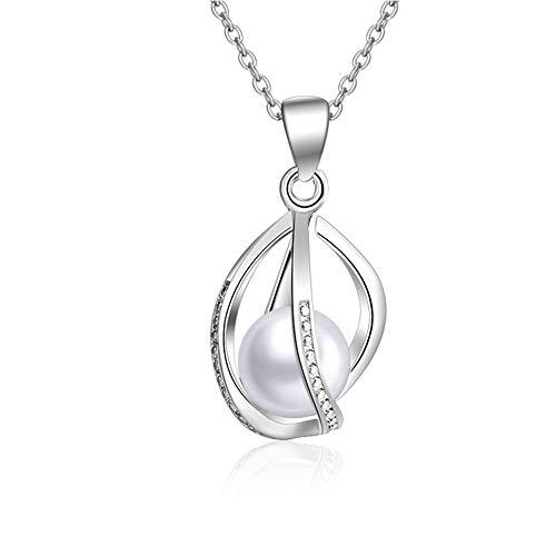 Collana in argento con ciondolo a forma di lanterne, fai da te, idea regalo per do