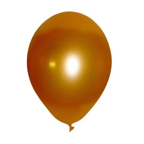 6cm in Metallic Gold Nr. 415 [Spielzeug] (Luftballons Metallic Gold)