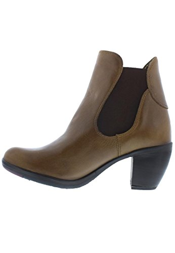 FLY London Damen Habb124fly Stiefel Braun (Camel)