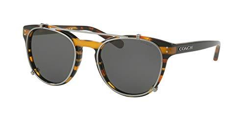 Coach - Damen, Hc8216 51 L1652, Sonnenbrille, 51 mm Damen, Schwarz (schwarz), Einheitsgröße