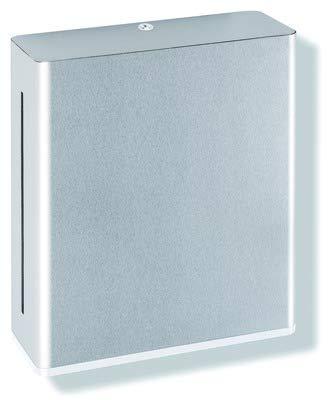 HEWI Papierhandtuchspender Serie 805 Edelstahl reinweiss 805.06.500 99