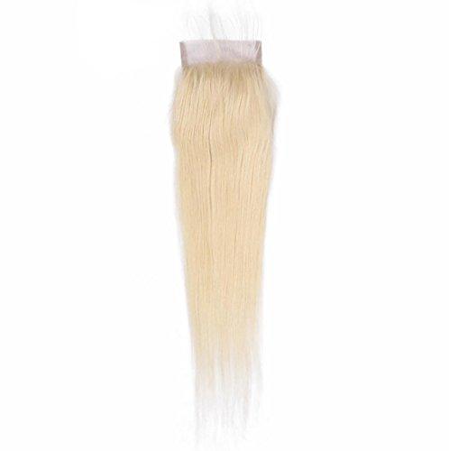 Glattes Echthaar Live-Haar 4 × 4 Spitze Haarteil In Den Punkten / Freie Punkte / Drei Schlange Bildfarbe FüR Eine Vielzahl Von Gelegenheiten JMQ , 12inch ()