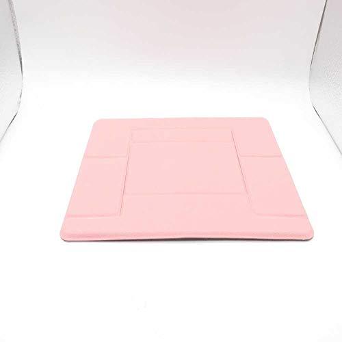 kkh Notebook - Computer, Desktop - tragbare erhöht Stehen kühler Stehen iPad - Wiege. 22.4 * 17 * 0.25cm/Rosa (Computer Desktop-kühler)
