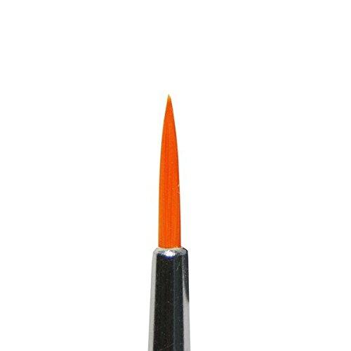 Farbstark Schminkpinsel / Rundpinsel, Größe 2 (Kunsthaar / frei von Tierhaar)