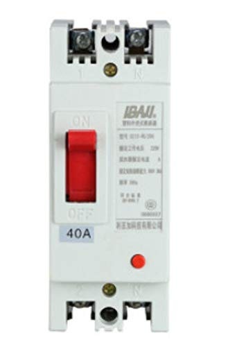 OIASD Two-Phase Shell Molded case Circuit Breaker 2P Overload Short Circuit Protector Single-Phase air Switch 40A, 25A - Single-circuit Air