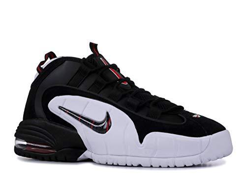 Nike Herren Air Max Penny Basketballschuhe, Mehrfarbig Black/White/University Red 003, 42.5 EU -
