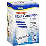 Tetra Whisper Large Aquarium Filter Cartridge 3pk by Tetra Whisper