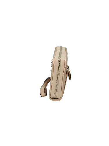 GUESS THOMPSON WALLET LARGE ZIP AROUND VG620946 Beige