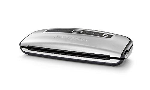 FoodSaver FFS015X Machine sous Vide avec Design Compact, Inclus Sacs de Mise sous Vide Assortis et Adaptateur Accessoire