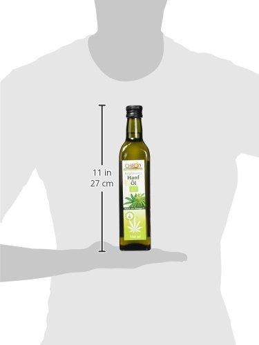 Chiron Bio - Hanföl echt kaltgepresstes, 1er Pack (1 x 500 g) - 4