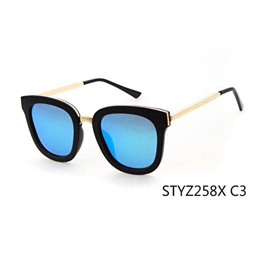 Taiyangcheng Gafas de sol polarizadas para Mujer Gafas de sol Con ojo de gato para Hombres,C3